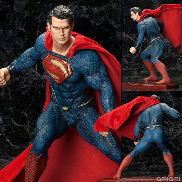 ARTFX Superman (Man of Steel) - 1/6 Complete Figure - ¥10,350