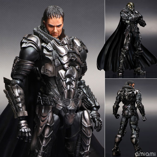 Play Arts Kai - Man of Steel: General Zodd - Action Figure - ¥6,800