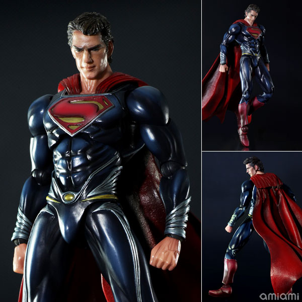 Play Arts Kai - Man of Steel: Superman - Action Figure - ¥6,800